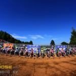Start of the last MX3 race in Orehova Vas - Slovenia