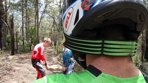 Enduro Goon riding with Geoff Braico